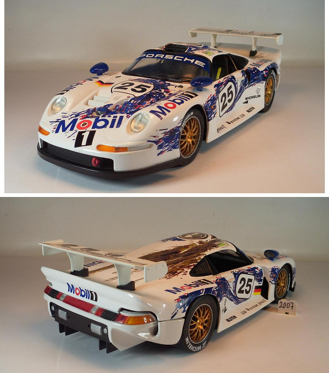 porsche 911 gt1 anson porsche 911 gt1 street modelcar anson 1 18 in white owned by 39 caddyman. Black Bedroom Furniture Sets. Home Design Ideas