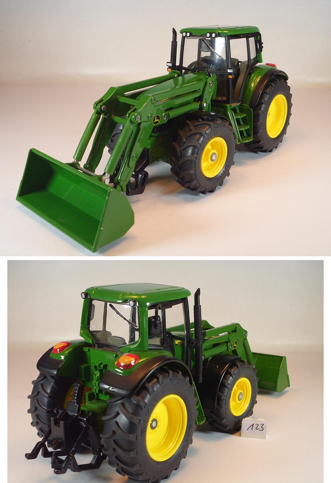 siku 1 32 farm john deere 6820 frontlader traktor. Black Bedroom Furniture Sets. Home Design Ideas