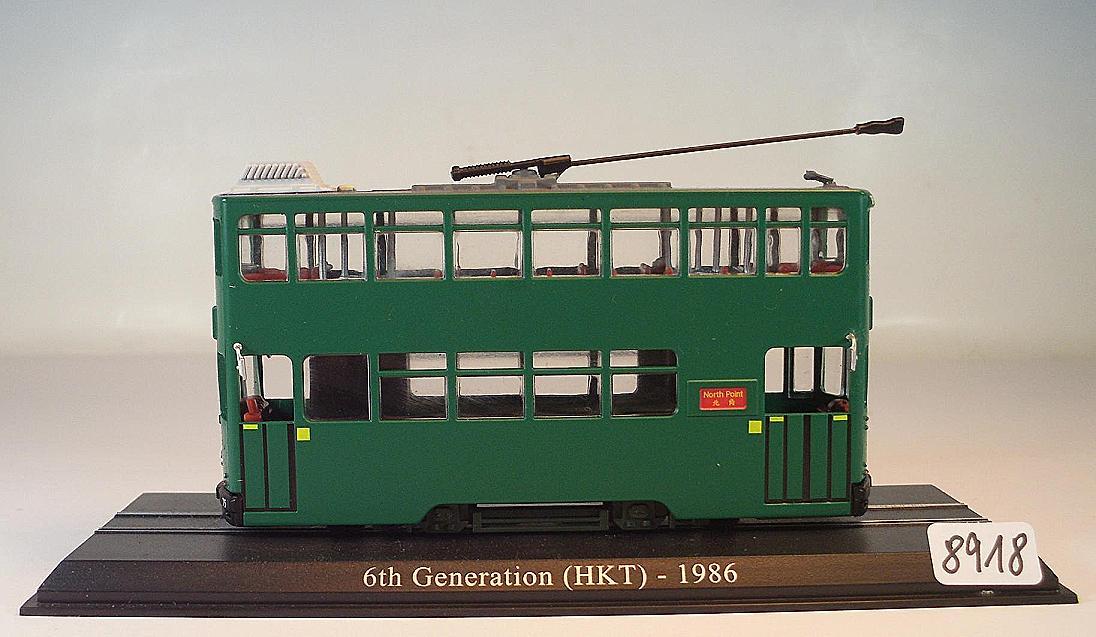 Atlas 1//87 scale Die Cast Tram - 1986  # 4648104b 6th Generation HKT