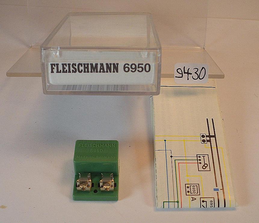 Strecken-Gleichrichter //// Fleischmann 6950 //// Spur H0-Z