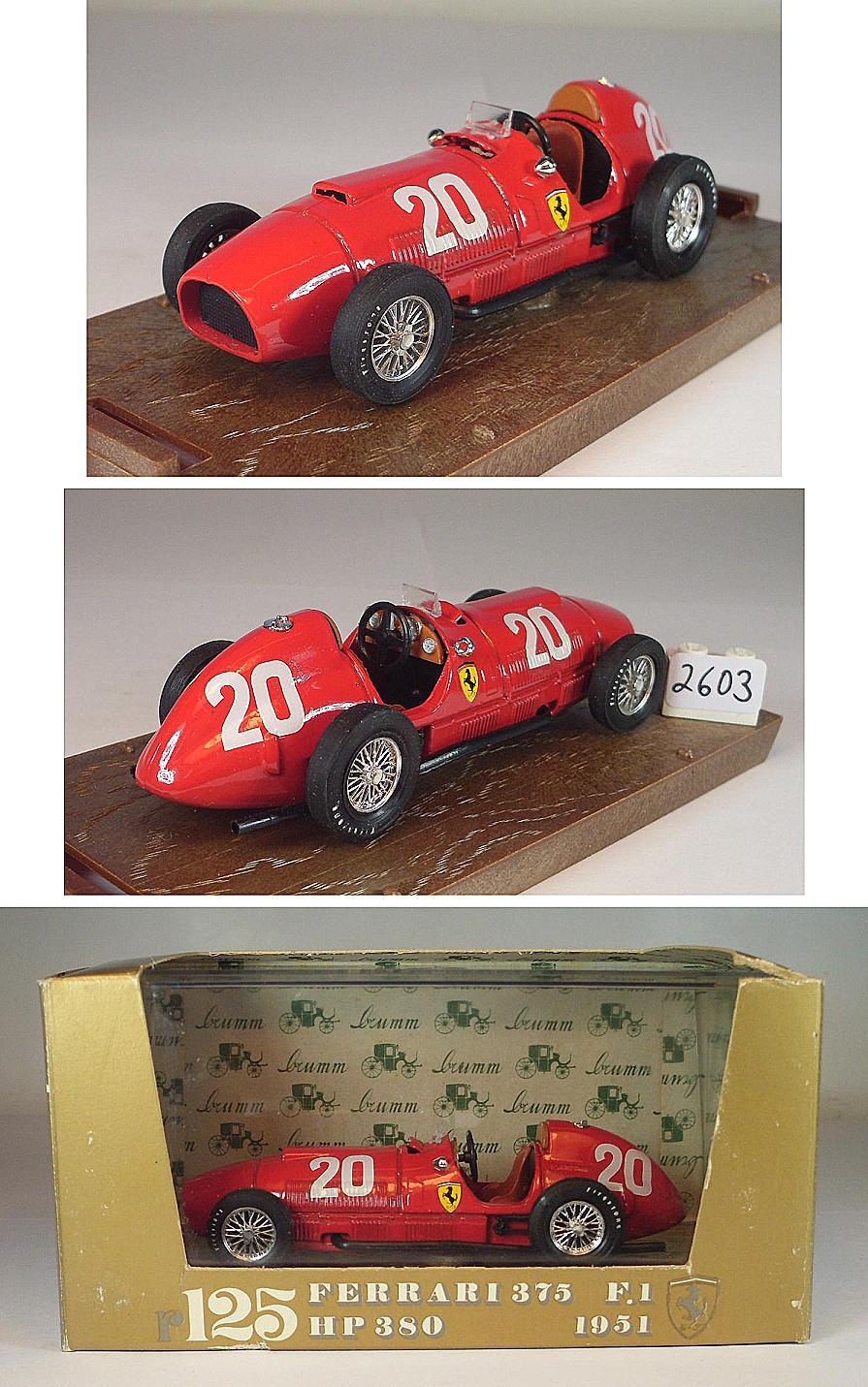 #87391 BoS-Models Ferrari  375 F1 #12 1951-1:87 F1 GP Silverstone