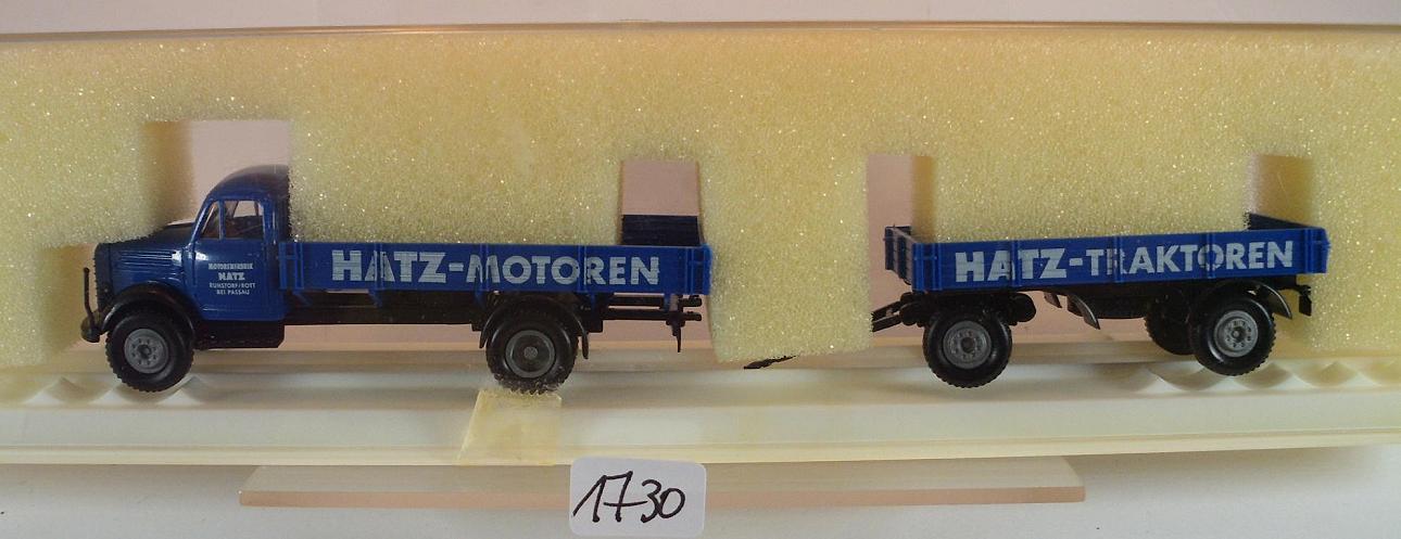 Brekina 1//87 43016 Borgward B 4500 LKW Koffer Confern Möbeltransporte OVP #2681