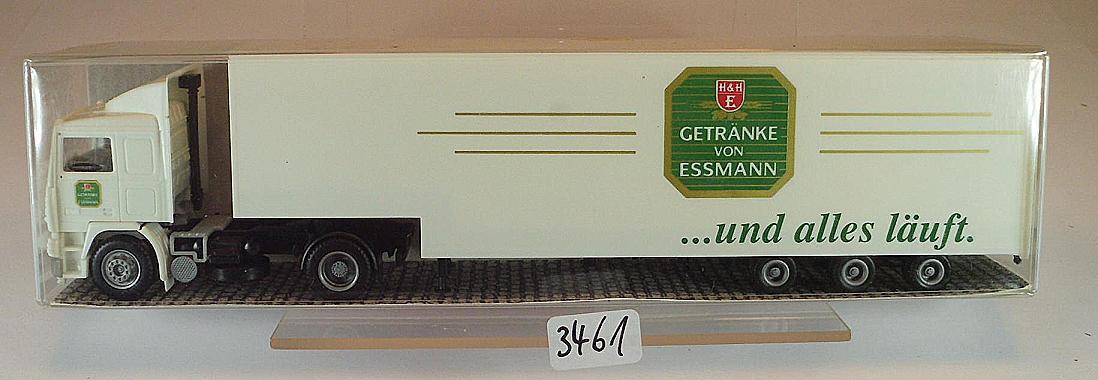 Albedo 1/87 Volvo F12 Jumbo Sattelzug Koffer Essmann Getränke OVP ...