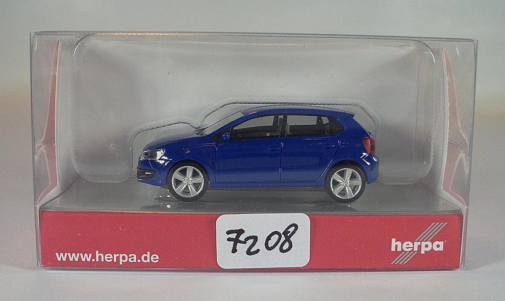 Herpa 012140-005 MiniKit VW Polo 2-türig ultramarinblau 1:87 H0