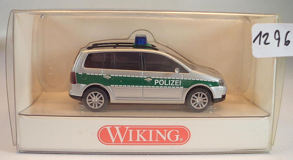 Wiking 1:87 104 28 VW Touran Polizei OVP