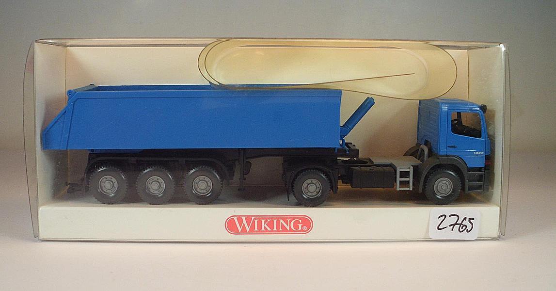 Wiking 1//87 n 676 04 34 Mercedes Benz Atego dietro Kipper-autoarticolati OVP #2765